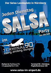 Salsa Party im Terminal90